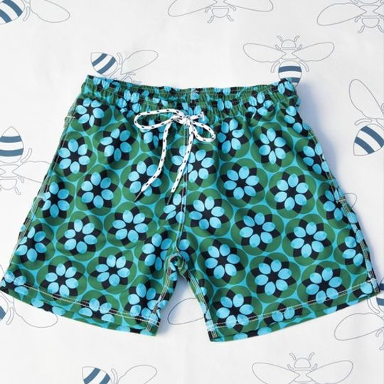 Retro Flower Shorts