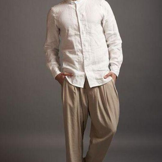 3 Peat Linen Pants