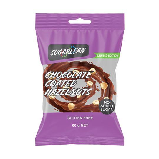 Sugarlean Chocolate Coated Hazelnuts (60 g)