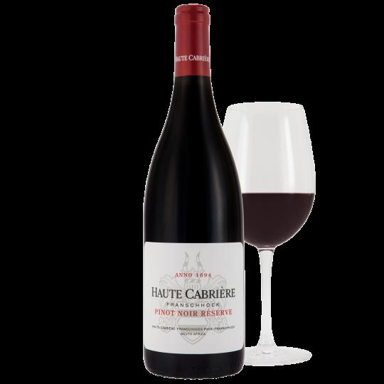 Haute Cabrière Pinot Noir Rèserve 2017 Case 6