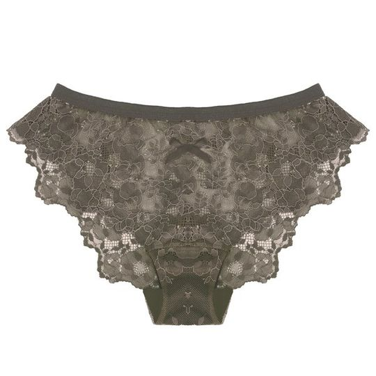 Lace Panty in Iron Maiden