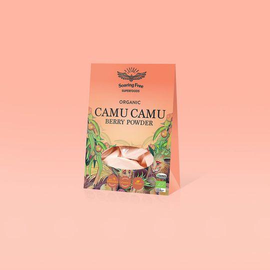 SOARING FREE SUPERFOODS Organic Camu Camu Berry - 100g