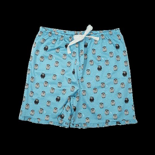 Girls Pajamas Short Pants Frill Sheep