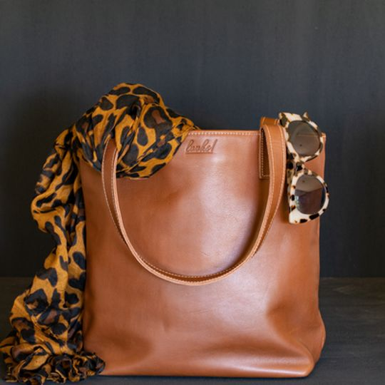 CAROLINE Leather Everyday Tote