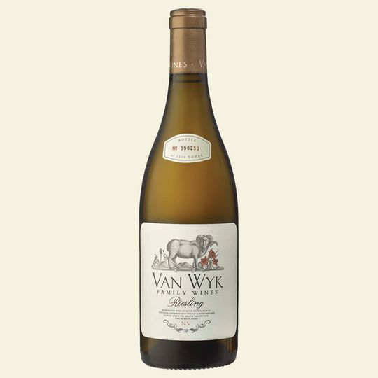 Van Wyk Family Wines Riesling (6x750ml)