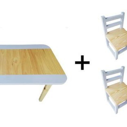 Rectangular Table (Large) and  4 Chairs Set
