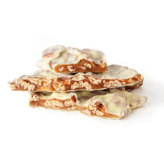 Pecan Pebbles in White Chocolate 1 kg