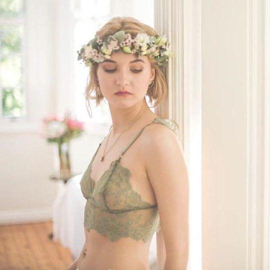 Indie Bralette in Miss Moss
