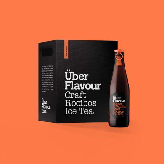 Uber Flavour Rooibos Craft Ice Tea Mango & Vanilla