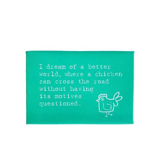 Fun Chicken Canvas