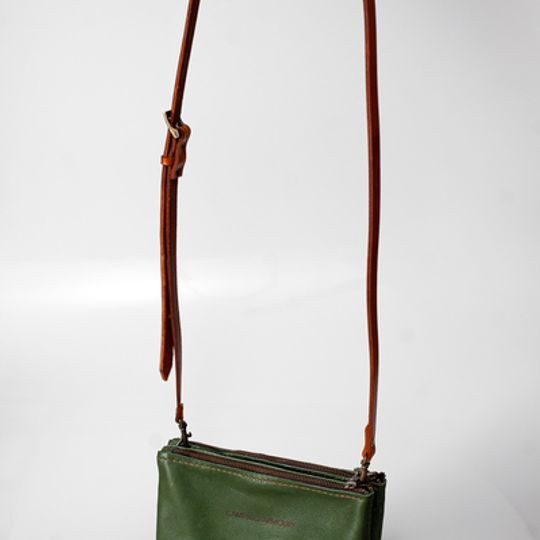 Double pocket sling bag