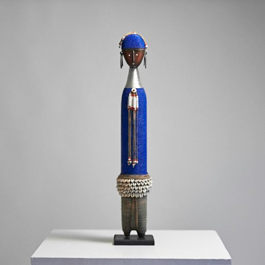 Blue Damjie doll