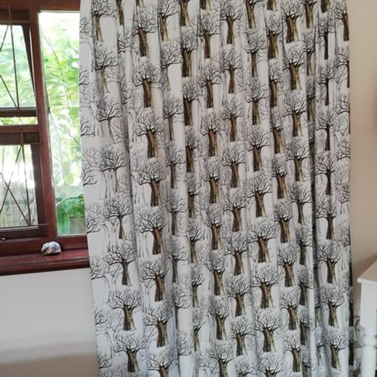 Baobab Forest: Table Cloth / Per Meter
