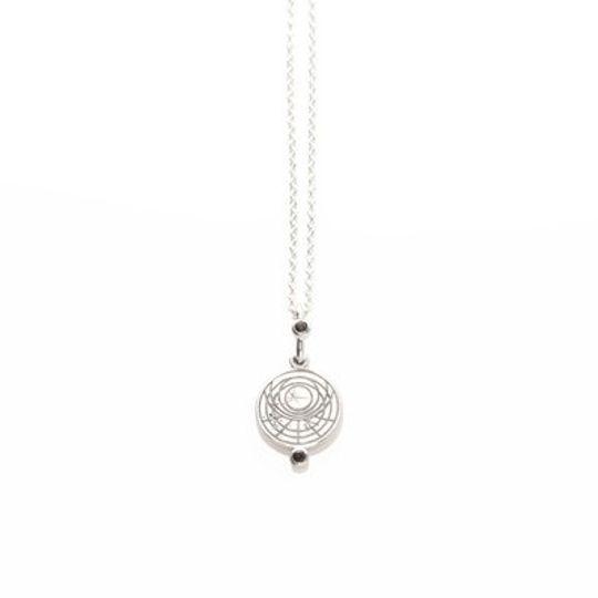 Astrolabe Pendant with Smokey Quartz