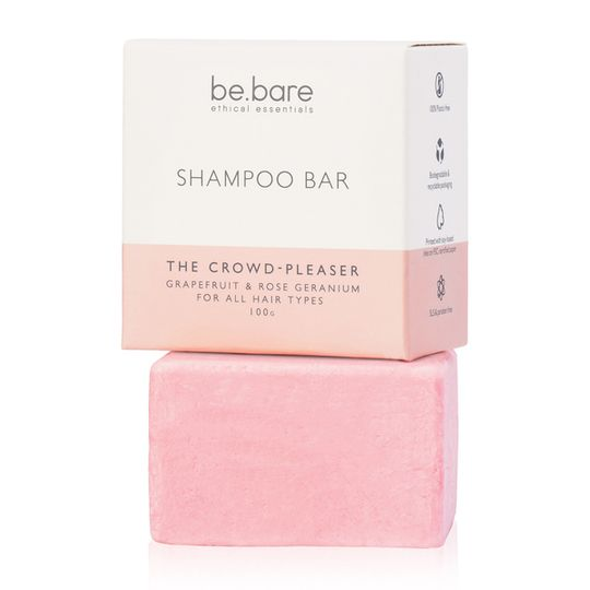 Be Bare The Crowd Pleaser Shampoo Bar