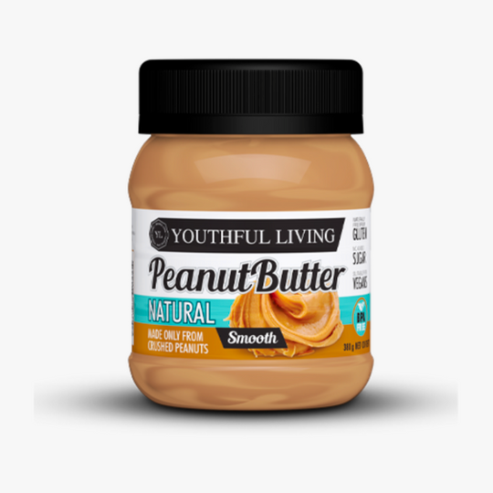 Smooth Natural Peanut Butter (380g)