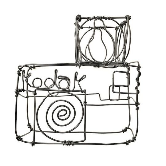 Wire Kodak camera