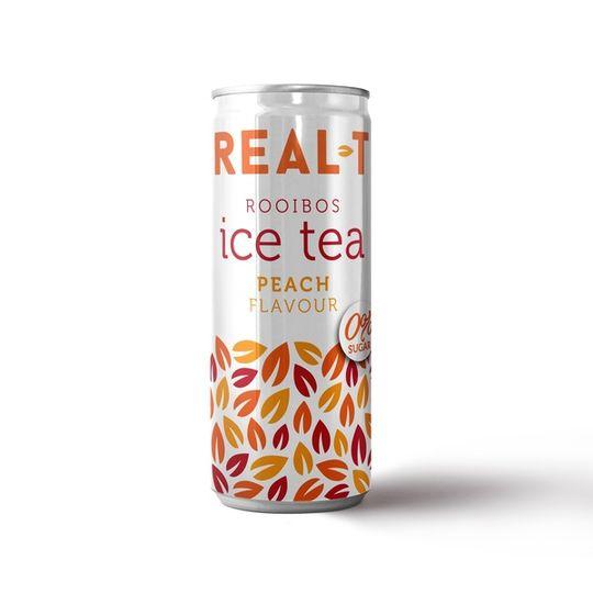 Real - T Premium Rooibos Ice Tea - Peach