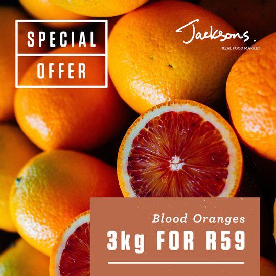 Blood Oranges (+-3kg)