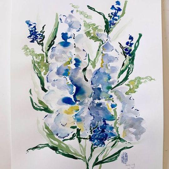 Blue Tulips 1.0