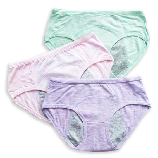 3 Pack Teen Period Panties | Sorbet Swirl