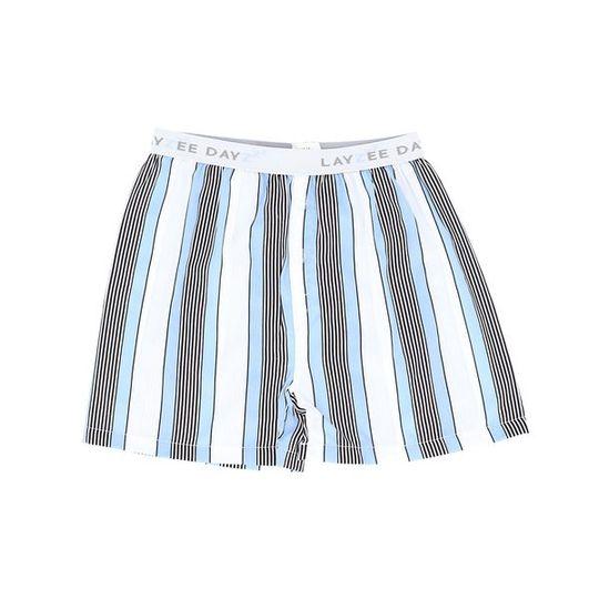 Boys Short Pants (Boxers Shorts) Unisex Blue Stripes