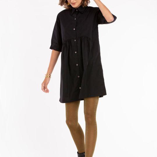 Katsi | Gathered Mini Dress