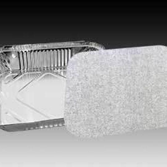 W4013 -3,4 Litre aluminium foil catering roaster in light gauge.