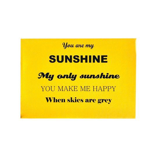 Sunshine canvas