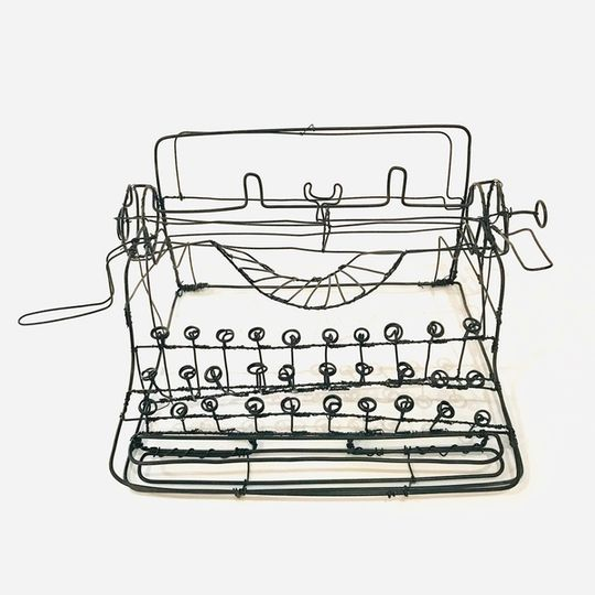 Wire Typewriter
