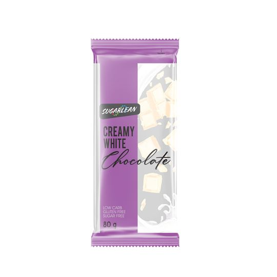 Sugarlean Creamy White Chocolate (75 g)
