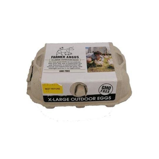Non Gmo Extra Large Eggs (6's)