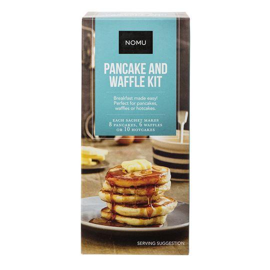 NOMU Pancake and Waffle Baking Kit