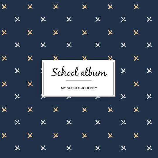 School album - Navy