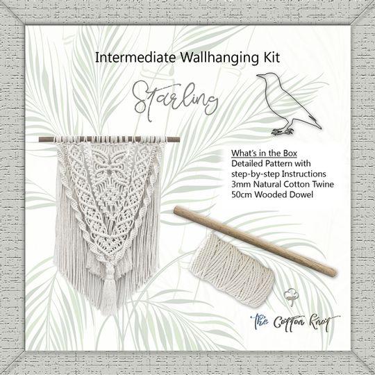 Medium Wall Hanging Kit - Starling