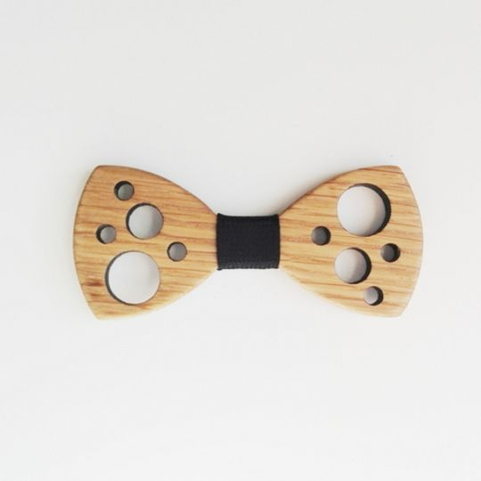 The Holey Moley Bowtie