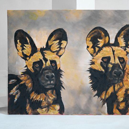Wild dog painting 3
