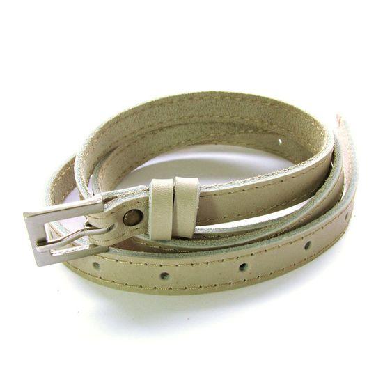 Skinny Belt - Off-white