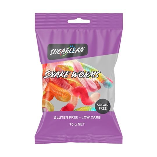 Sugarlean Snake Worm Jellies (70 g)