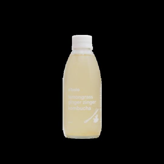 Lemongrass ginger zinger kombucha (250ml)
