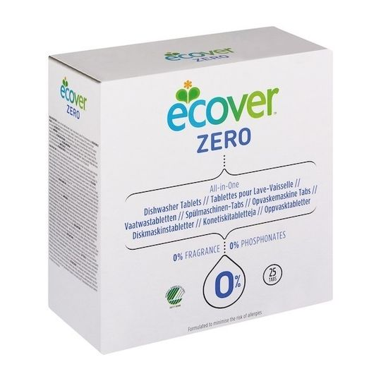 Ecover - Zero Dishwash Tablets All in One (25's)