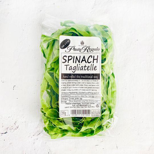 Pasta Regalo Spinach Tagliatelle pasta (350g)