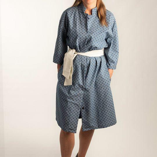 Dress Caroline Blue Iris
