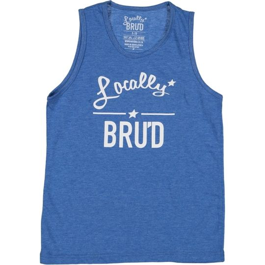 'Locally Brud' Kids Vest