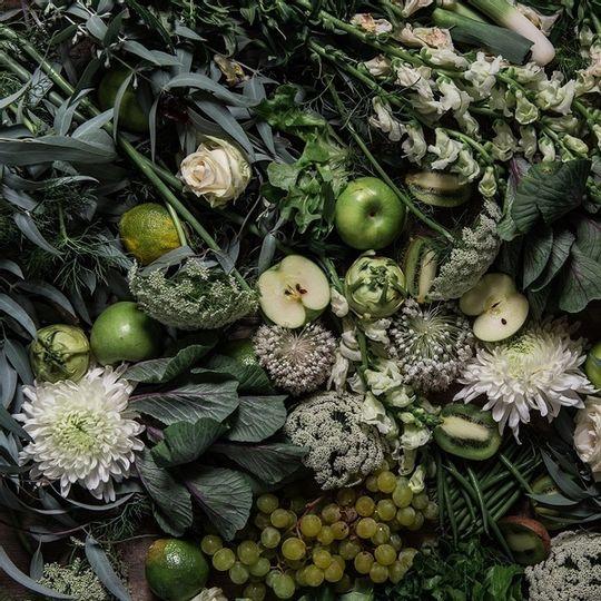 Napkins - Moody Green Apple