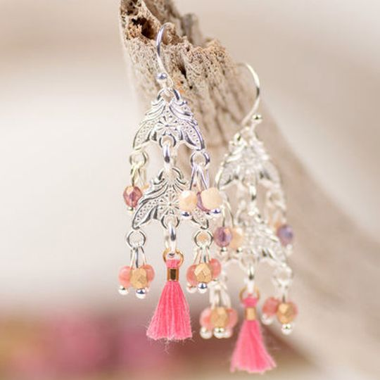 Petite Crystal Chandelier Earrings