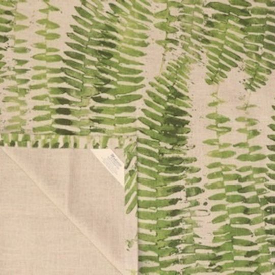 green fern wide runner