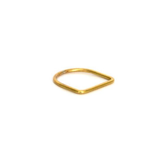 U-Shape Brass Ring