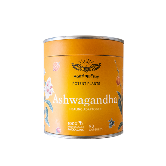 SOARING FREE SUPERFOODS Ashwagandha - 45g / 155 Capsules