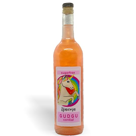 GUDGU SugarFREE Unicorn Cordial 750ml